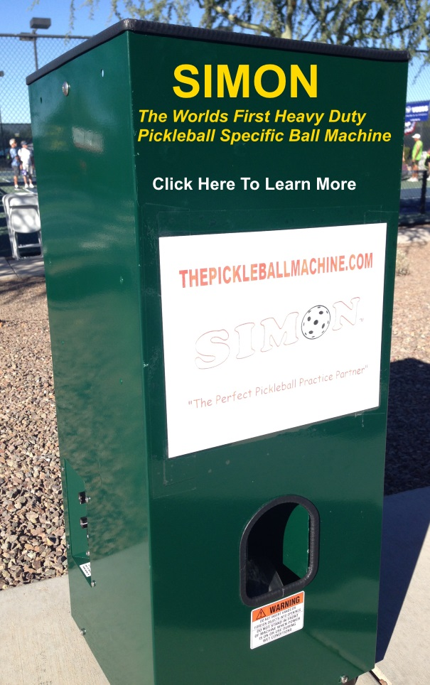 The Pickleball Machine